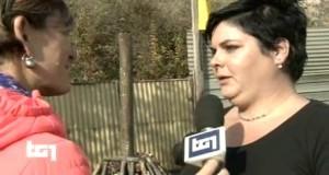 Federica Coccettini intervistata dal Tg1