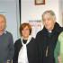 Il Cardinal Menichelli assieme ad Anna Maria Chiaraluce e ai responsabili dell'Acom
