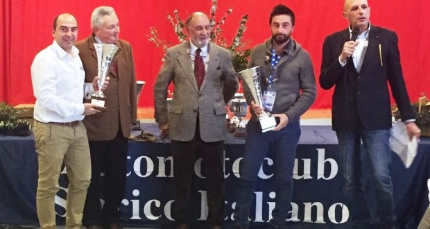 Carnevali premiato a Perugia