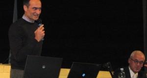 L'ing. Cruciani con il consigliere regionale Zura Puntaroni