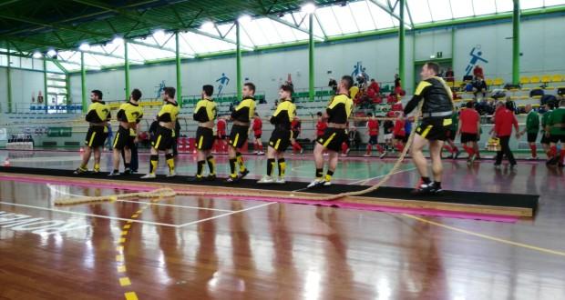 Gli atleti del Giaguaro in pedana