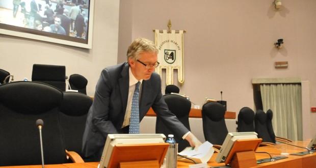 Luca Ceriscioli, presidente della Regione Marche