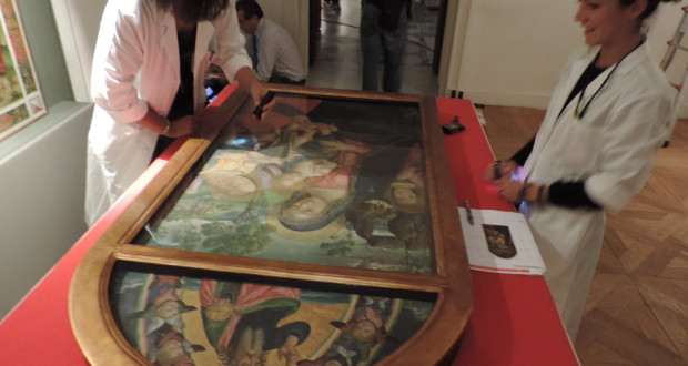 L'opera del Pinturicchio preparata per la mostra