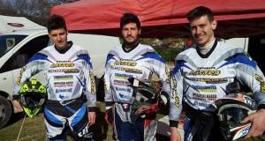 Da sinistra: Luca, Andrea e Francesco Moriconi