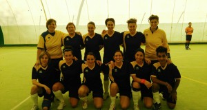 Le ragazze del Serralta calcio a 5