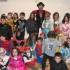 Bambini in maschera al Carnevale di Serralta