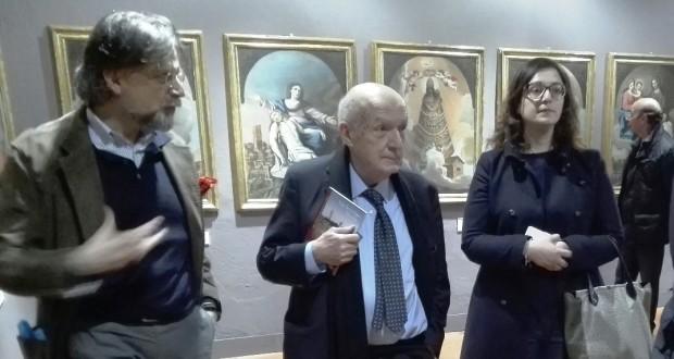 Da sinistra: l'architetto Cristini, il direttore Paolucci e l'assessore Gregori