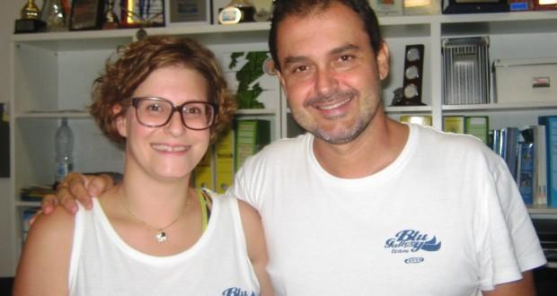 Chiara Ruffini e Luca Sorcionovo