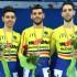 I tre atleti della Rotellistica Settempeda laureatisi vice campioni italiani