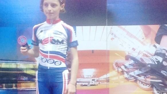 Alice Sorcionovo sul podio in Germania