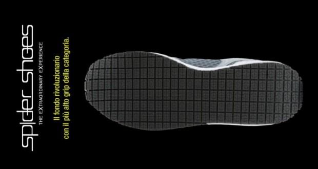 Il fondo delle Spider Shoes