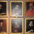 I ritratti dei primi vescovi e di Papa Sisto V
