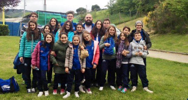 La squadra del BluGallery a San Marino