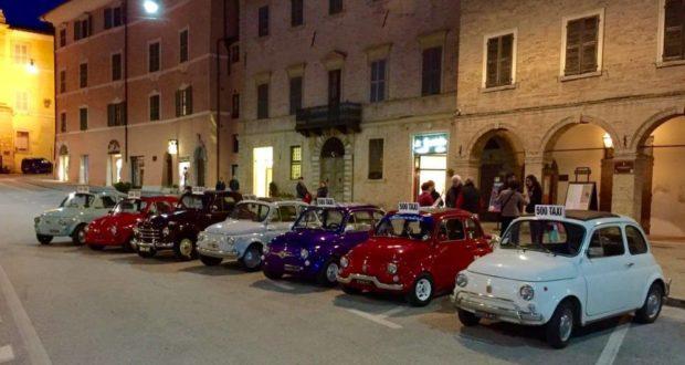 Le Fiat 500 sono protagoniste anche di Nottambula