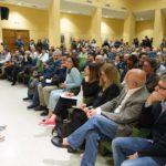 La platea dell'Italia per la presentazione di Mauro Bompadre e della sua lista