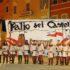 Il gruppo degli arcieri in piazza