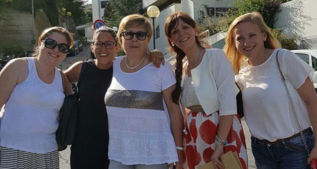 """La delegazione di """"Mamme Help"""" in Regione per il vertice con Ceriscioli e i vertici della sanità marchigiana"""