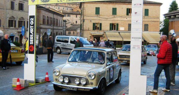 Mauro e Giacomo Marcelli al via di Sarnano