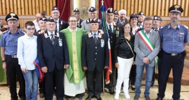 La foto di gruppo al termine della funzione religiosa