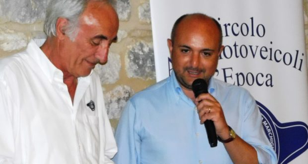 Pietro Caglini, presidente del Caem, con Alessandro Forcelli delegato Asi