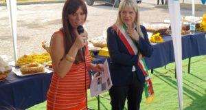 La presidente Cristina Marcucci e il sindaco Rosa Piermattei