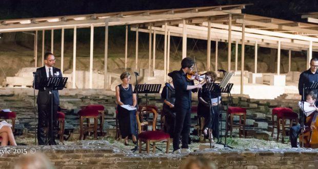 Una delle serate più piacevoli al Parco archeologico di Septempeda (foto d'archivio)