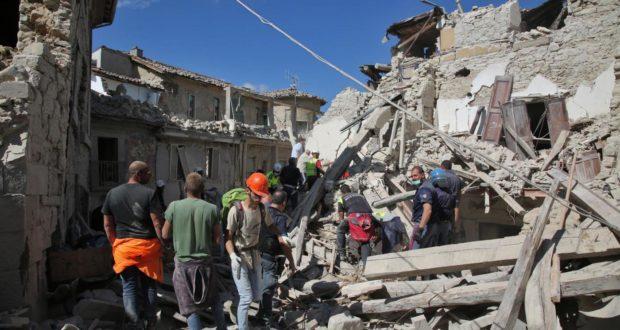 Amatrice distrutta dal terremoto