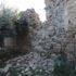 Crollo di mura al Castello di Carpignano