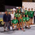 La premiazione della squadra di Siena vincitrice del trofeo Ingom