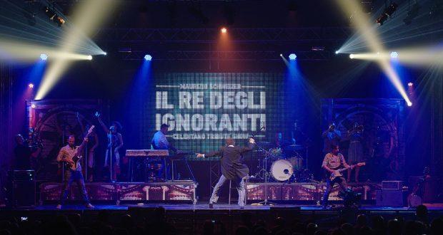 Lo spettacolo-tributo ad Adriano Celentano