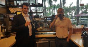 Federico Ippodimonte a Singapore per la Nuova Simonelli