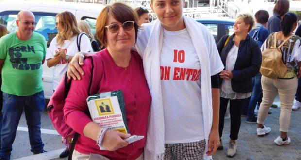 Cristina Carboni e Chiara Paciaroni, due mamme mobilitate per la sicurezza dei propri figli