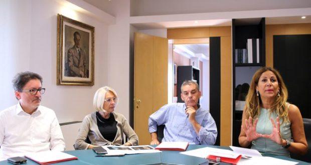 La conferenza stampa a Macerata