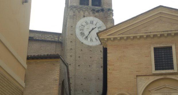Il campanile della cattedrale di Sant'Agostino