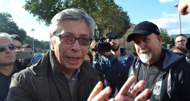 Vasco Errani al palasport