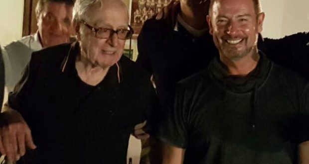 Don Fernando con Alberto Giuliani