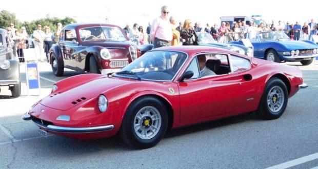 """Una Ferrari alla """"Due giorni del Conero"""""""