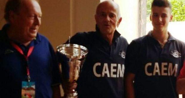 Paciaroni con il nipote Marco premiati a Perugia