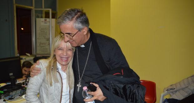 Il vescovo Antonio Napolioni con il sindaco Rosa Piermattei