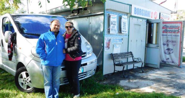 Graziano Borgiani e Manuela Mataloni