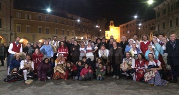 """Li Pistacoppi"" in Piazza del Popolo"