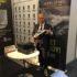 Oliviero Carducci ad Amsterdam con il nuovo modello delle Spider shoes