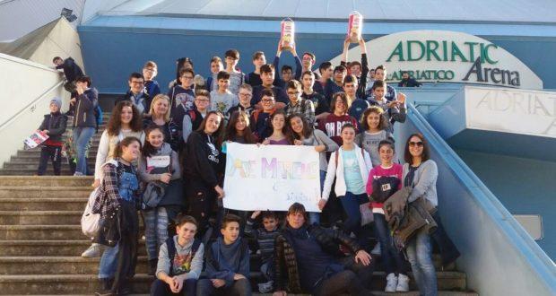 Studenti delle Medie a Pesaro