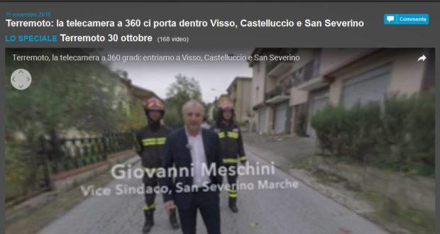 Giovanni Meschini nel docu-video di Repubblica