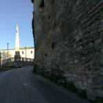 Le mura del monastero di Santa Chiara