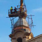 In piazza: il campanile di San Giuseppe