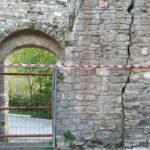 Le mura del Castello