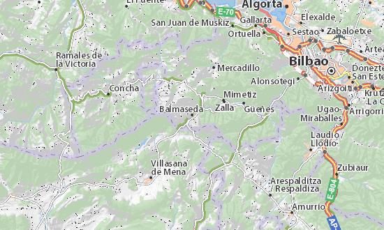 Balmaseda, città gemellata con San Severino: si trova nei pressi di Bilbao, in Spagna