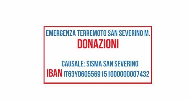 Un conto corrente per le donazioni