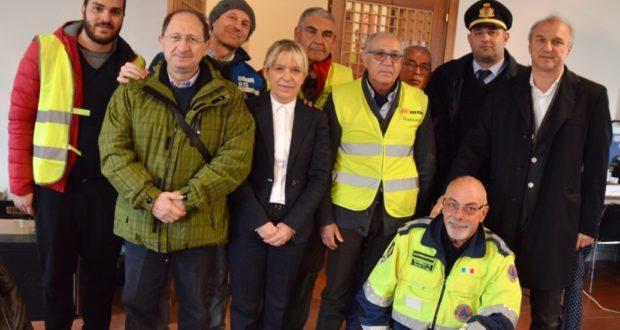 La delegazione di Eboli giunta a San Severino